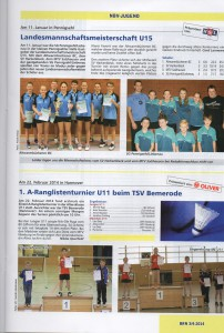 Badminton Hannover Training