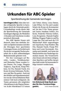 Badminton Hannover