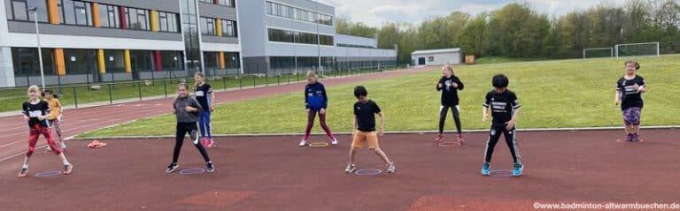 Outdoor Badminton Hannover