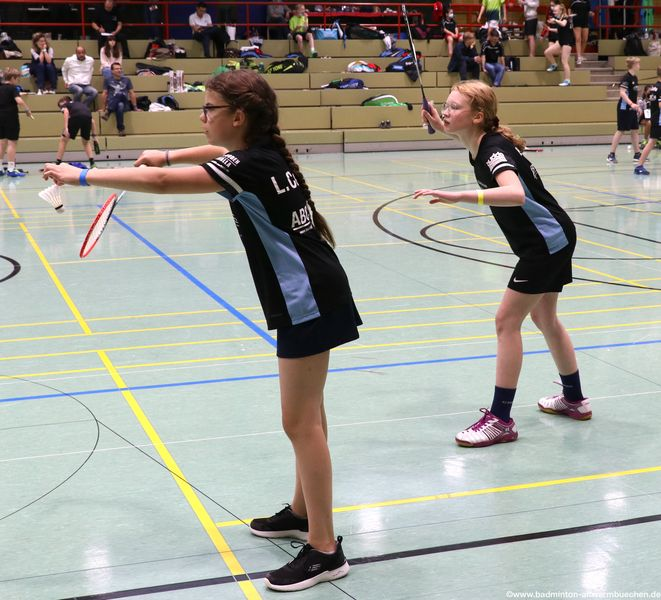 Badminton Hannover Mädchendoppel