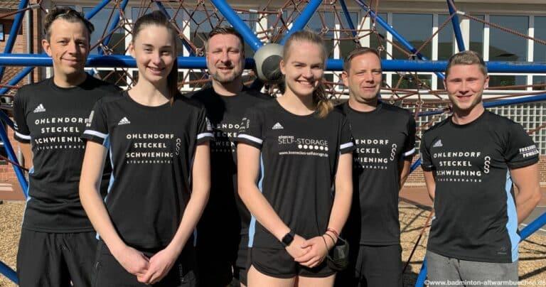 Badminton 2.Mannschaft Bezirksklasse Nord