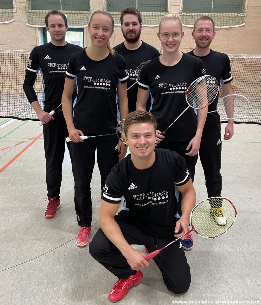 1.Mannschaft Landesliga Badminton Hannover
