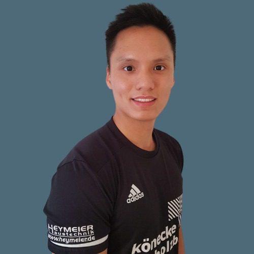 Viet Trieu Badminton Hannover Training